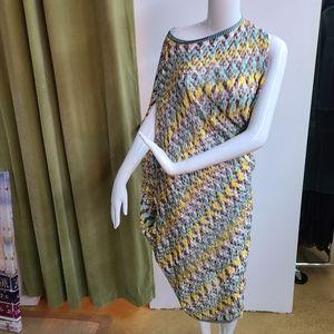 Asymmetrical Missoni Mare Dress
